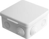 Коробка распределительная (распаечная) 100x100х50 (8 ввода, наружный монтаж) IP54 PE