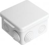 Коробка распределительная (распаечная) 85x85х50 (7 ввода, наружный монтаж) IP54 PE