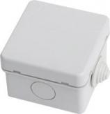 Коробка распределительная (распаечная) 65х65х40 (4 ввода, наружный монтаж) IP54 PE