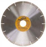 Диск алмазный отрезной сегментный Sparta EUROPA Standard, сухая резка, 125 х 22,2 мм