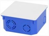 Коробка распаячная для бетонных стен 100х100х50