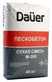 Пескобетон Dauer М300 крупная фракция 40 кг