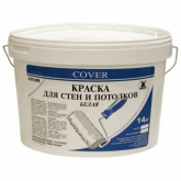 Интерьерная краска для стен и потолков белая