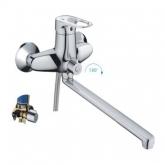 Смеситель для ванны с длинным гусаком ф40 30F-2 FRAP / Фрап