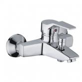 Смеситель для ванны с коротким гусаком ф40 Смеситель для ванны с коротким гусаком ф 40 LUX FRAP /Фрап