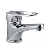Смеситель для умывальника ф40 Смеситель для ванны с коротким гусаком ф 40 LUX FRAP / Фрап