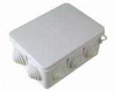 Коробка распределительная (распаечная) 190x140х70 (10 ввода, наружный монтаж) IP54 PE