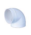 323 ККП колено круглое пластиковое ф150 (угол 90° )