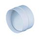 12,5 СКПО соединитель пластиковый с обратным клапаном ф125