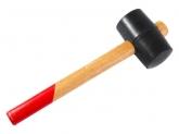 Киянка резиновая, деревянная рукоятка