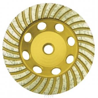 Диск алмазный шлифовальный Fit Турбо 39521 125х22 мм