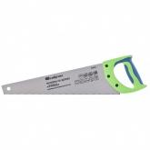 "Ножовка по дереву ""Зубец"", 400 мм, 7-8 TPI, калёный зуб 2D, двухкомпонентная рукоятка. СИБРТЕХ"