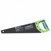 """Ножовка по дереву """"Зубец"""", 400 мм, 7-8 TPI, калёный зуб 2D, защитное покрытие, двухкомпонентная рукоятка. СИБРТЕХ"""