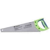 "Ножовка по дереву ""Зубец"", 400 мм, 7-8 TPI, калёный зуб 3D, двухкомпонентная рукоятка. СИБРТЕХ"