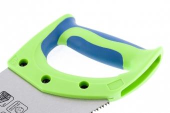 "Ножовка по дереву ""Зубец"", 500 мм, 7-8 TPI, калёный зуб 3D, двухкомпонентная рукоятка. СИБРТЕХ"
