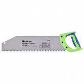 "Ножовка по дереву ""Зубец"", 400 мм, шаг зуба 10 мм, калёный зуб 2D, двухкомпонентная рукоятка. СИБРТЕХ"