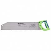 "Ножовка по дереву ""Зубец"", 500 мм, шаг зуба 10 мм, калёный зуб 2D, двухкомпонентная рукоятка. СИБРТЕХ"