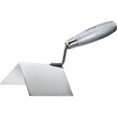 Мастерок из нержавеющей стали, 80 х 60 х 60 мм, для внешних углов