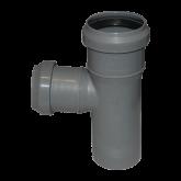 Тройник канализационный внутренний D 32/32 х 87* Политэк