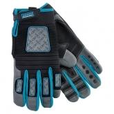Перчатки универсальные комбинированные Deluxe, XXL. GROSS