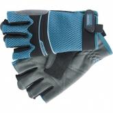 Перчатки комбинированные облегченные, открытые пальцы, Aktiv, XL. GROSS