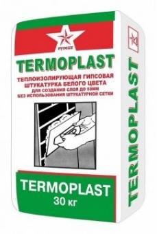 Штукатурка гипсовая Термопласт Русеан 30 кг