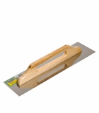Гладилка плоская 480х130 мм с деревянной ручкой