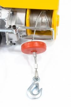 Тельфер электрический TF-1000,1 т, 1600 Вт, высота 12 м, 8 м/мин
