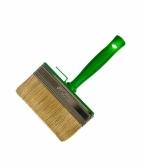 Кисть макловица 140х40 мм натуральная щетина пластиковая ручка