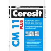 Клей плиточный Ceresit (Церезит) CM11 Plus 25 кг