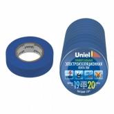 Изоляционная лента 20мх19мм UIT-135P 20/19/10 BLU