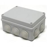 Коробка распределительная (распаечная) 240x190х90 (10 ввода, наружный монтаж) IP54 PE