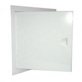 Люк ревизионный металлический крашеный белый с магнитом ШхВ 25х100 см.