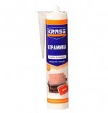 Клей Жидкие гвозди для пластика и плитки Особопрочный монтаж белый KRASS 300м