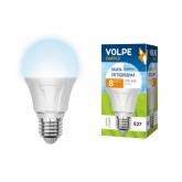 Светодиодная лампа серии Simple LED-A60-8W/NW/E27/FR/S