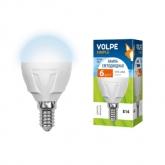 Светодиодная лампа серии Simple LED-G45-6W/NW/E14/FR/S