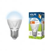 Светодиодная лампа серии Simple LED-G45-6W/NW/E27/FR/S