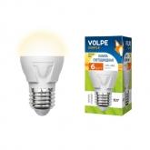 Светодиодная лампа серии Simple LED-G45-6W/WW/E27/FR/S