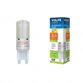 Светодиодная лампа серии Simple LED-JCD-2,5W/WW/G9/CL/S