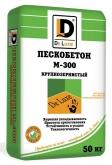 Сухая смесь Пескобетон М-300 De Luxe 40кг (крупнозернистый)