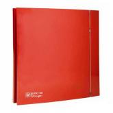 Soler & Palau Silent 100 CRZ Design red-4C (с таймером)