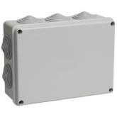 Коробка распределительная (распаечная) 150x170x70 (10 ввода, наружный монтаж) IP54 PE